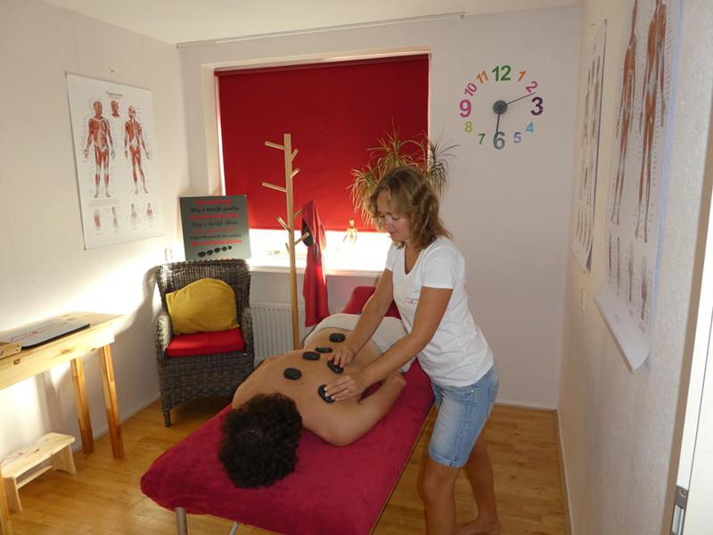 Hot stone en cold stone massage Zoetermeer