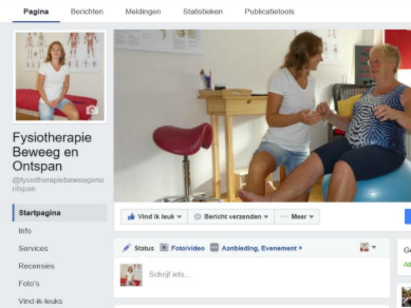 Facebook Fysiotherapie Zoetermeer