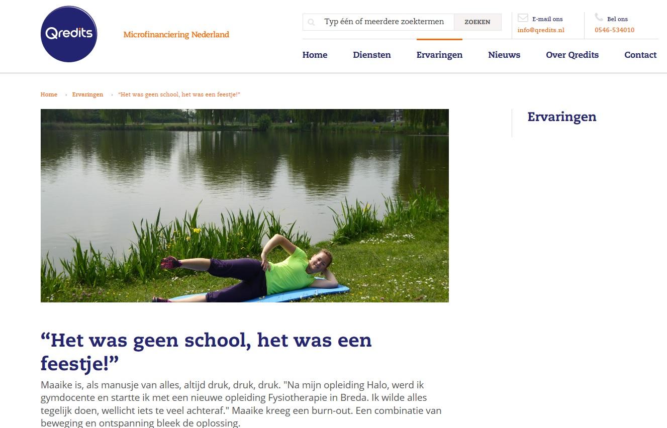 Qredits Fysiotherapie Zoetermeer