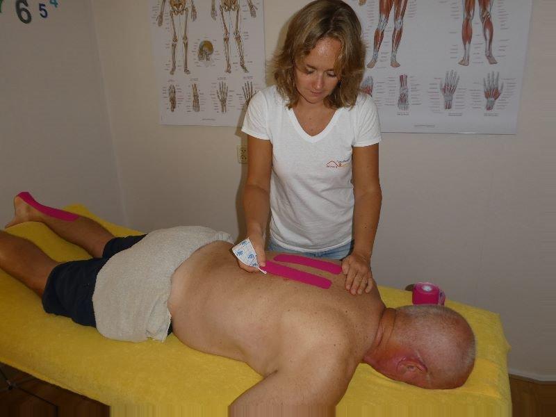 Medical taping fysiotherapie zoetermeer