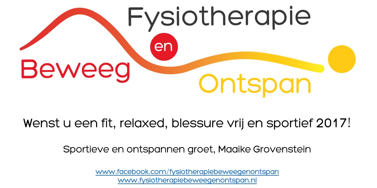 Fysiotherapie Zoetermeer Happy New Year