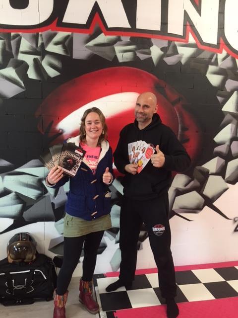 Boxingclub Zoetermeer Johan Huurman en Fysiotherapie Beweeg en Ontspan
