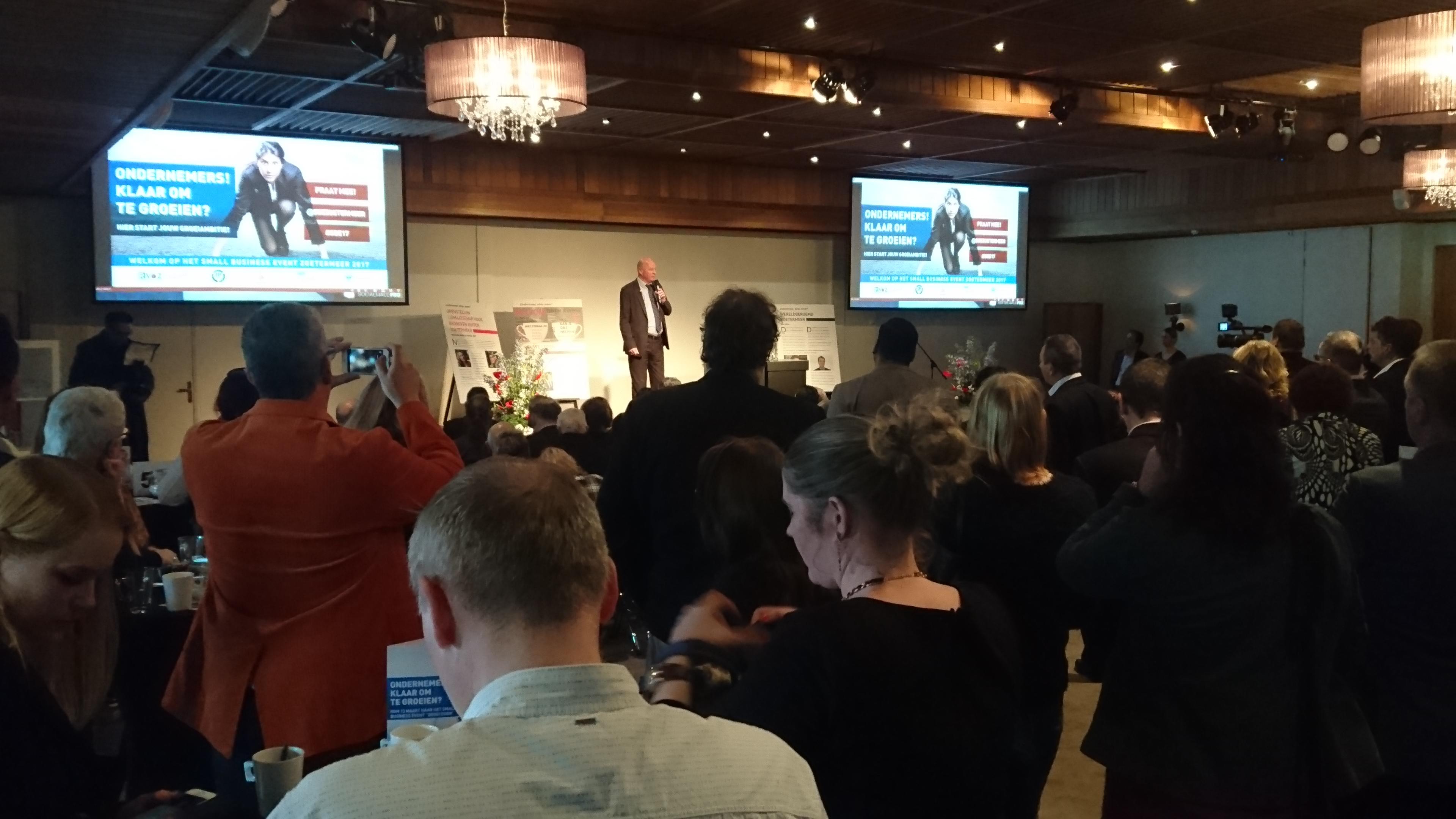 Small Business Event groei door gemeente zoetermeer
