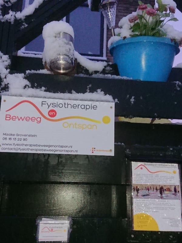 Fysiotherapie sneeuw zoetermeer