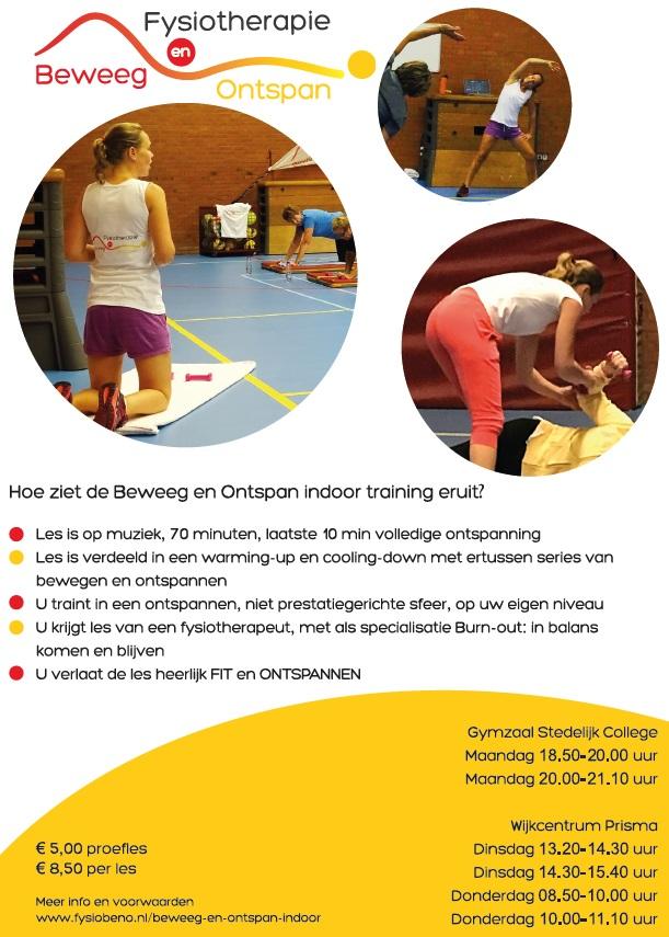 Flyer Fysiotherapie Zoetermeer
