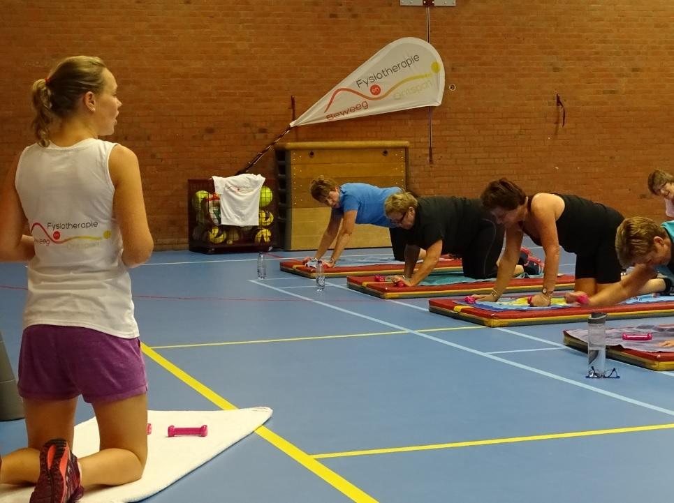 Fysiotherapie Zoetermeer training