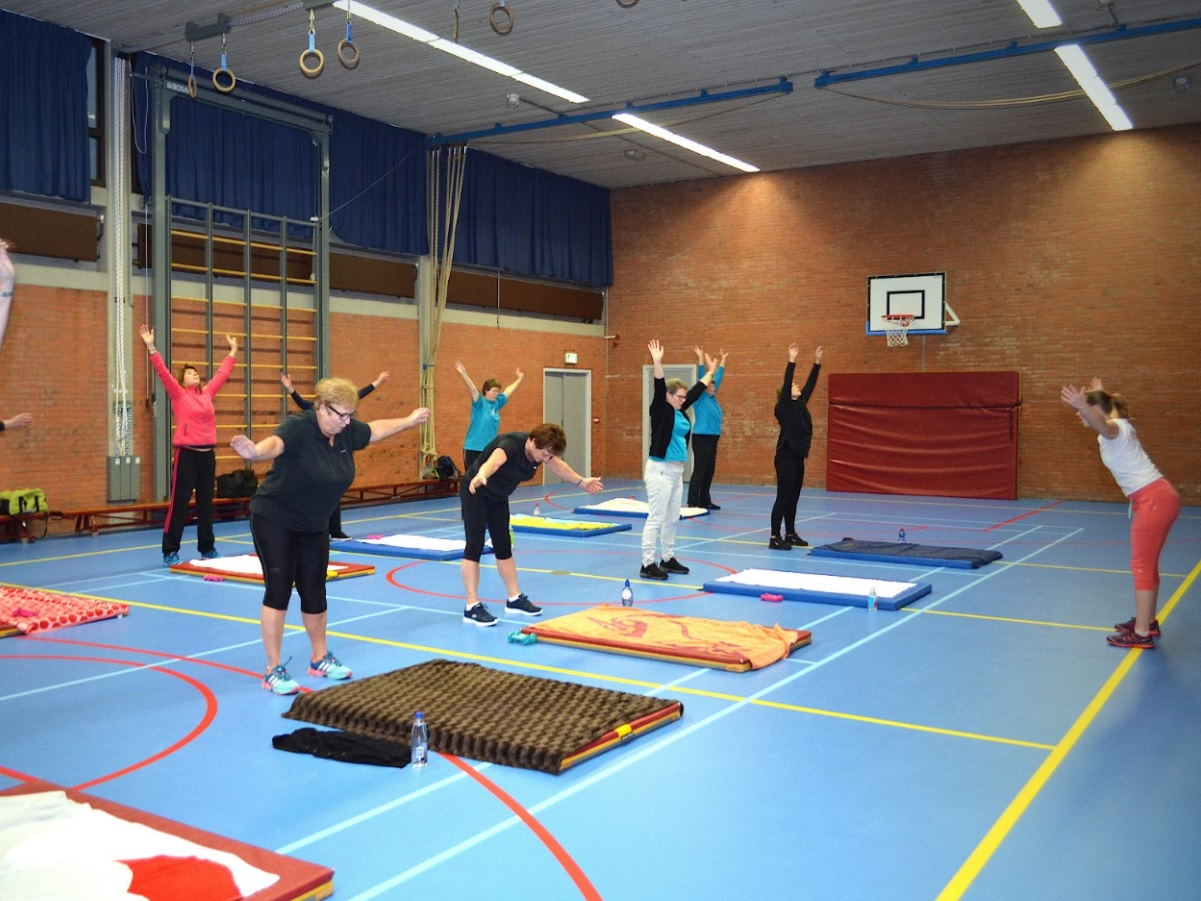 Training bewegen ontspannen indoor