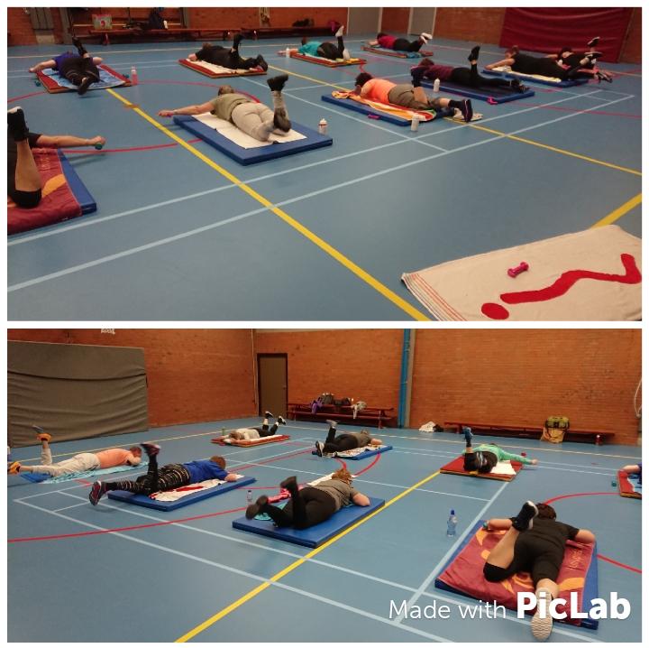 Beweeg en Ontspan Indoor groepstraining