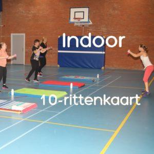 Indoor 10-rittenkaart