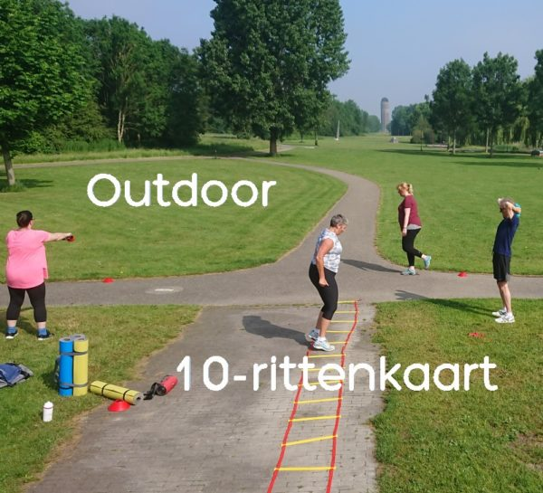 Outdoor 10-rittenkaart