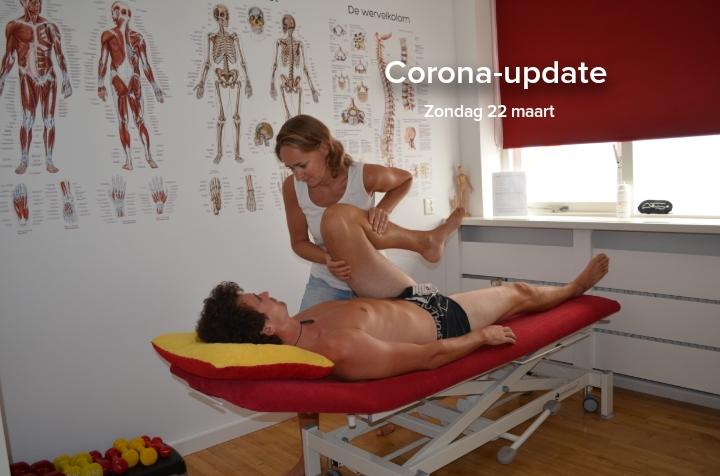 corona-update-fysiotherapie
